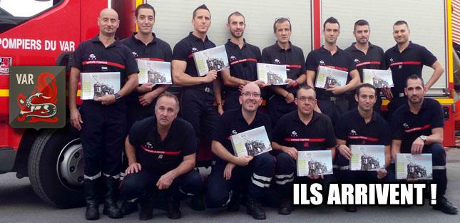 Calendriers des Sapeurs Pompiers de Sollies Pont 2014