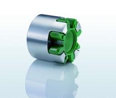 Flexibele klauwkoppeling voor hydraulische toepassingen
