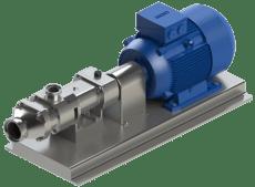 Schroefspindelpomp te gebruiken zonder CIP-centrifugaalpomp