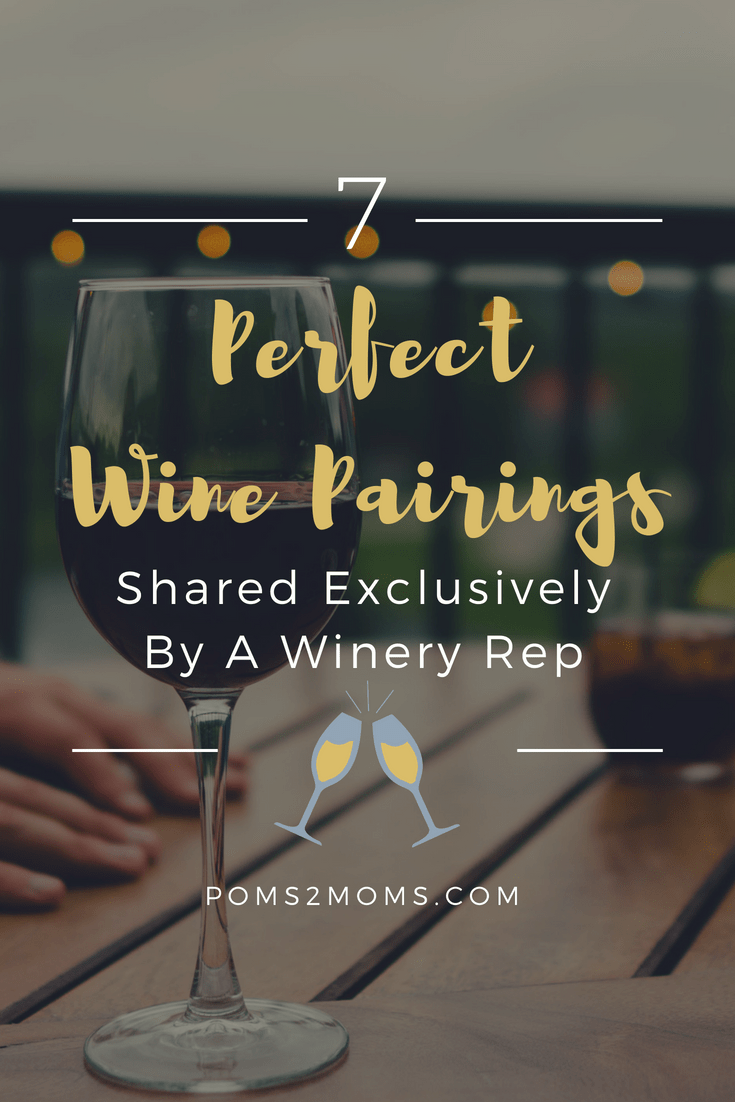 wine suggestions the perfect pairing  poms2moms