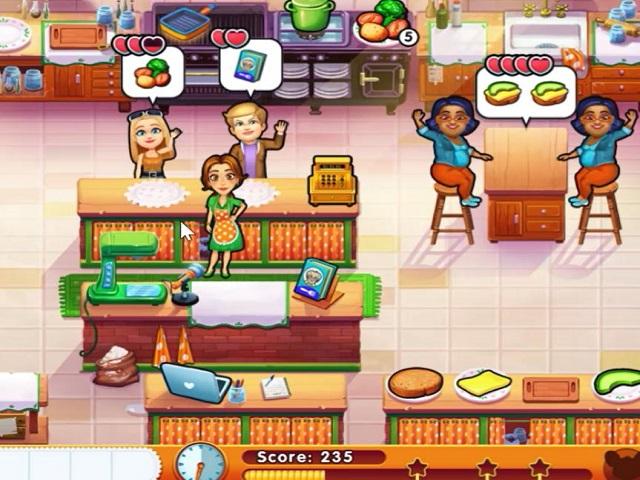 Restaurant Games Cinema Rush