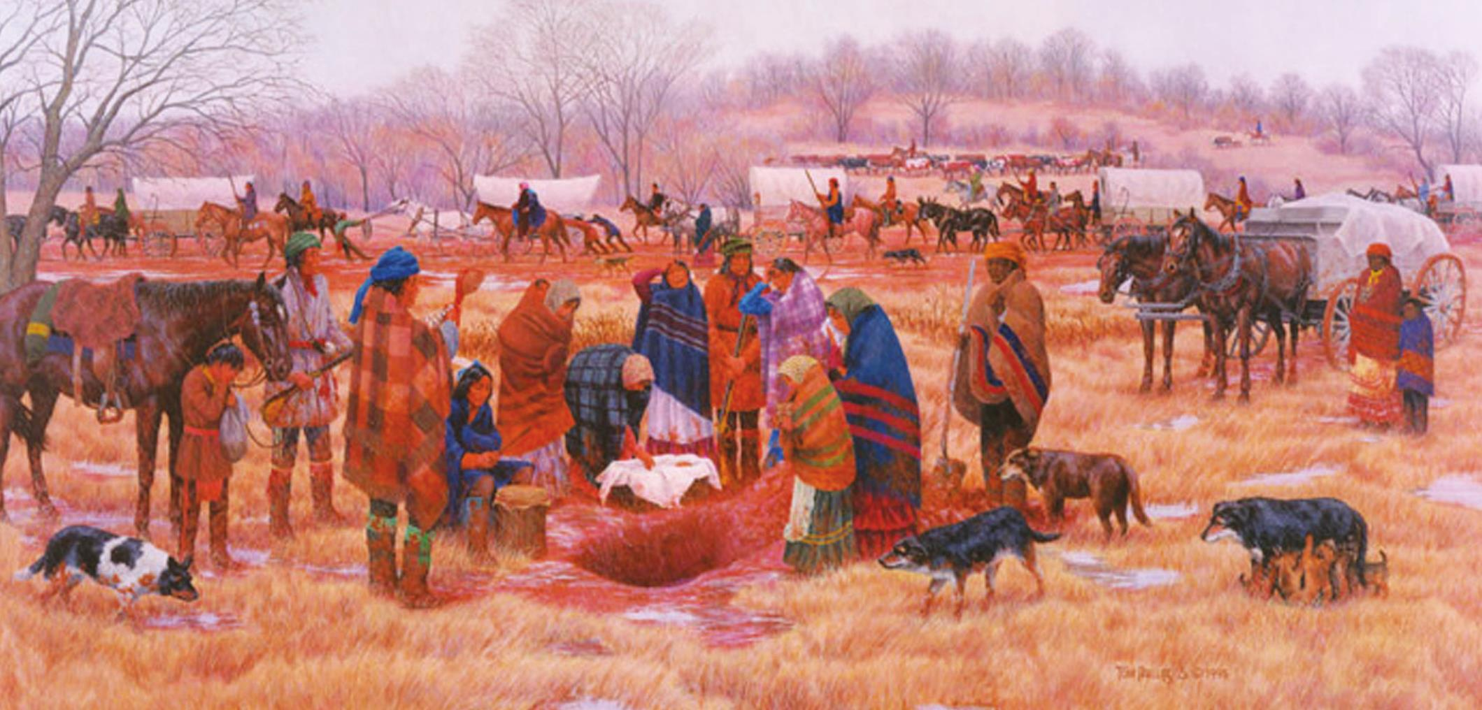 Chickasaw Nation Faced Many Hardships