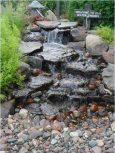 Elite Pondless waterfall