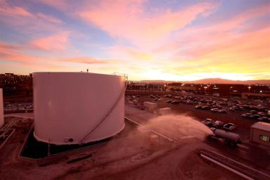 Aircraft Fuel Facility Expansion McCarran International Airport Las Vegas Nevada 1