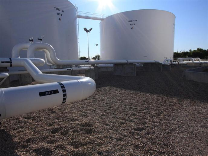 Aircraft Fuel Facility Expansion McCarran International Airport Las Vegas Nevada 7