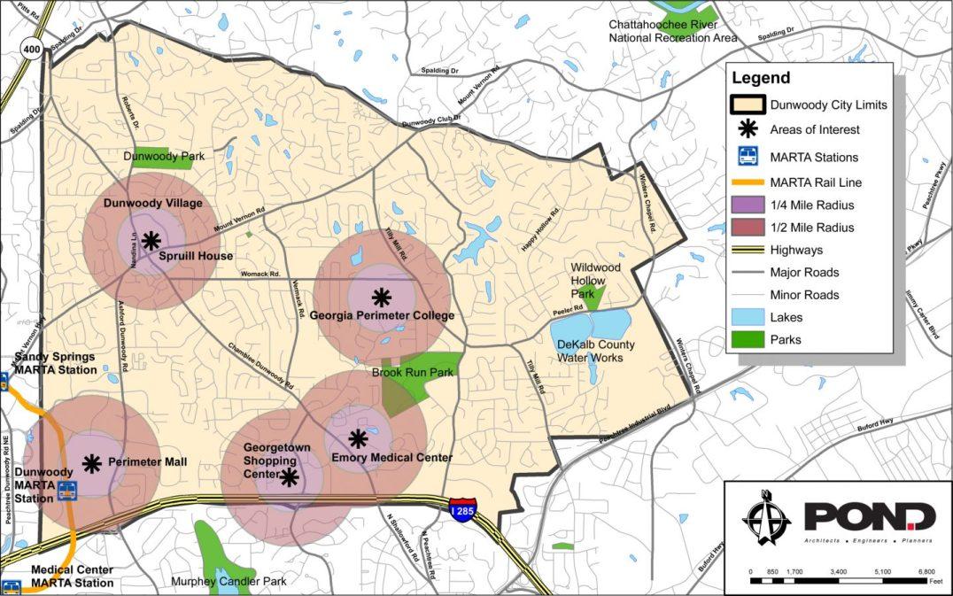 City of Dunwoody Comprehensive Plan Dunwoody Georgia 1