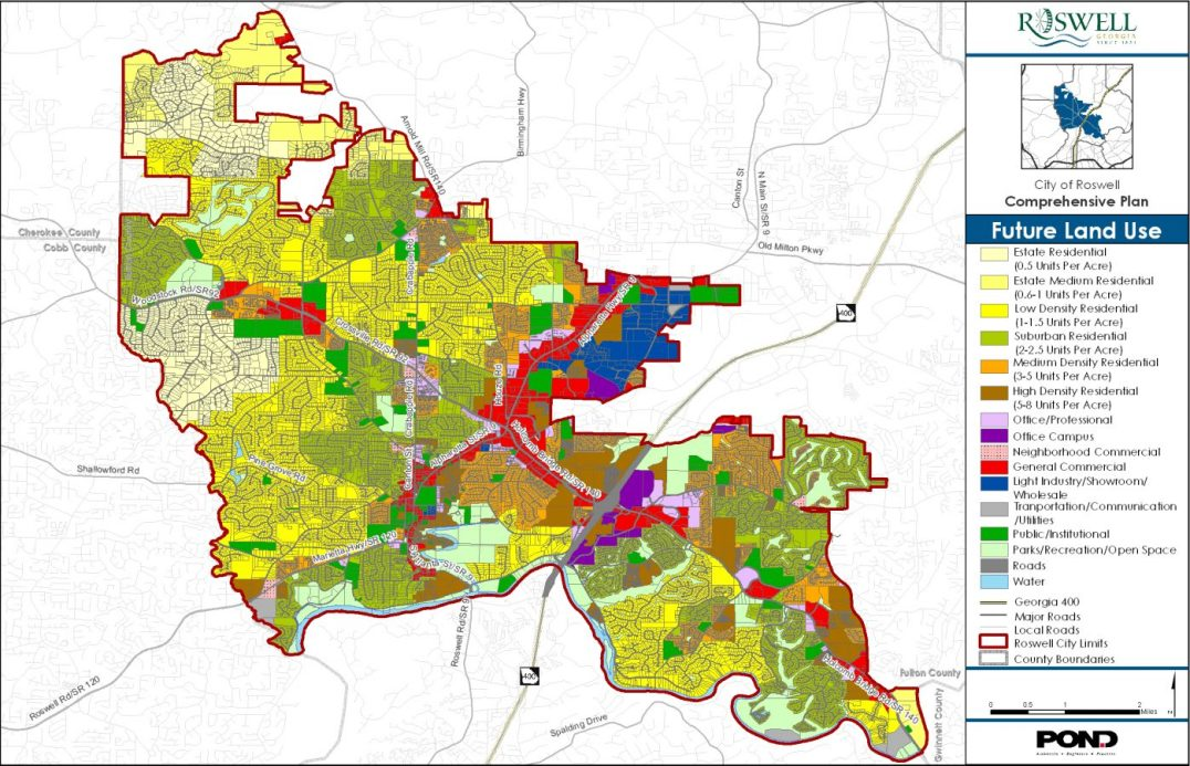 City of Roswell Comprehensive Plan Roswell Georgia 4
