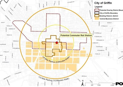 Downtown Griffin Transit-Oriented Development - Griffin, GA