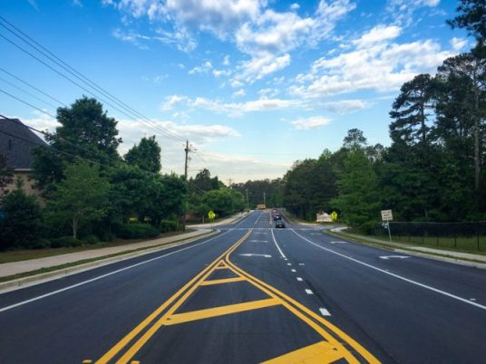 Eves Road Complete Street Roswell Georgia 1