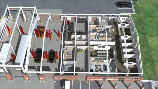 Motor Transportation Facility Marine Corps Recruit Depot Parris Island South Carolina 1