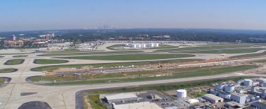 Taxiway Victor V 8R End Around Hartsfield-Jackson Atlanta International Airport Atlanta Georgia 2