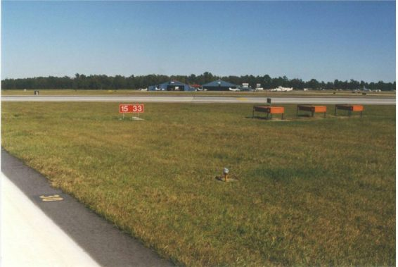 Visual Air Navigation Facilities Upgrade Runway 03-21 Charleston International Airport Charleston South Carolina 2