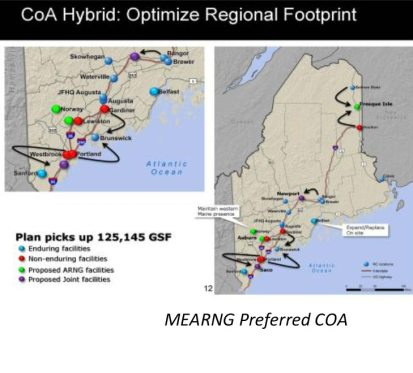 Readiness Center Transformation Master Plan RCTMP Florida Maine Puerto Rico US Virgin Islands 1