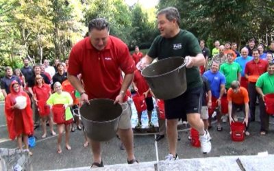 Pond takes the ALS Bucket Challenge to a Whole New Level!