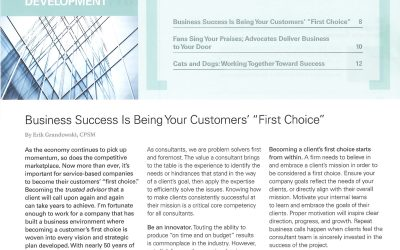 4 Ways to Become Your Client's First Choice