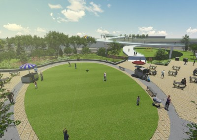 Gwinnett Place CID Multi-Modal Green Corridor Master Plan - Gwinnett County, GA