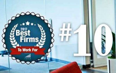 Pond ranks top 10 Best Firms to Work For by Zweig Group