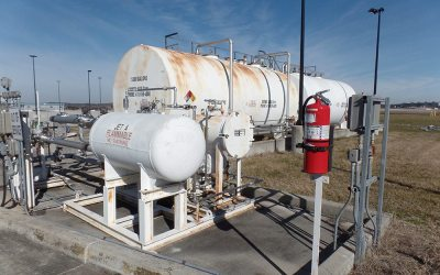 Pond provides quick response to BWI cargo tank farm repairs