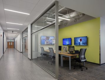 Social Media Center, Campus Safety Facility at Georgia Institute of Technology