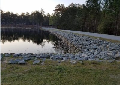 Magnolia Springs Dam Auxiliary Spillway Rehabilitation - Magnolia Springs State Park, GA