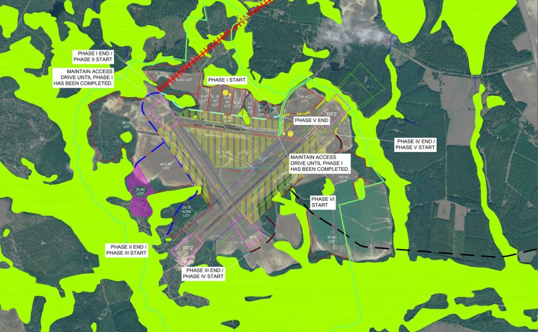 Plantation Airpark Infrastructure Feasibility Analysis Screven County Georgia