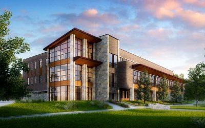 Pond Builds a 21st Century Campus