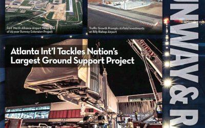 Pond featured in Airport Improvement Magazine