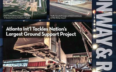 Pond featured in Airport Improvement Magazine