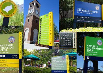 Atlanta Parks and Recreation Signage System - Atlanta, GA