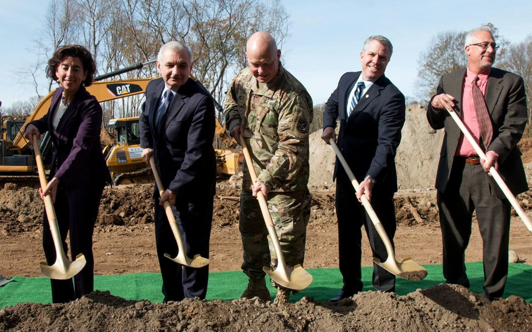 Rhode Island National Guard's new Joint Force Headquarters breaks ground