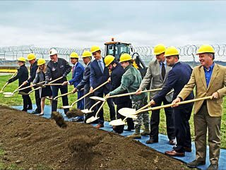 The Pittsburgh Air Reserve Station hosts ground breaking ceremony