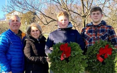 Pond honors service members with Wreaths Across America
