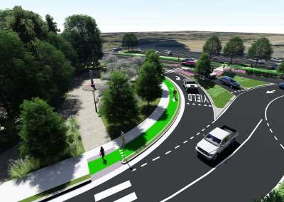 Wieuca Road Roundabout - Buckhead Community Improvement District (CID), GA