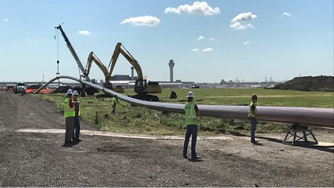 Pond continues success at Chicago O'Hare International Airport