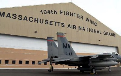 The 104th Fighter Wing F-15's Get a Newly Renovated Home