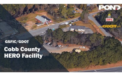 Pond Constructors creates a new GDOT HERO facility in Cobb County