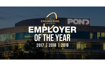 Pond Named Engineering Employer of the Year for a Third Consecutive Year