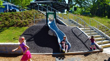 Children's Playground slide