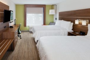 ADA Double, Holiday Inn Express and Suites, Dothan, AL