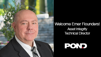Pond Welcomes Emer Flounders, PE as Asset Integrity Technical Director