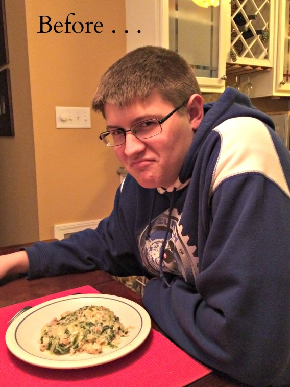 Christian before eating crockpot spinach artichoke chicken