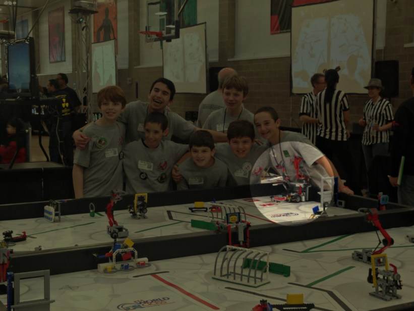 Spencer's First Lego League (FLL) Team at the State Championship at U of I - Soundbuster Robot