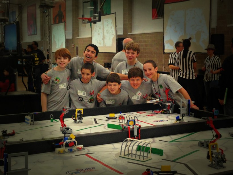 Spencer's First Lego League (FLL) Team at the State Championship at U of I