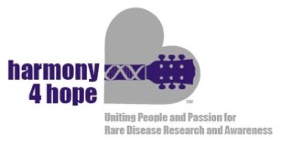 Harmony 4 Hope: electric_purple_logo_tagline