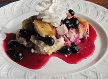 Blueberry French Toast Casserole for Brunch!