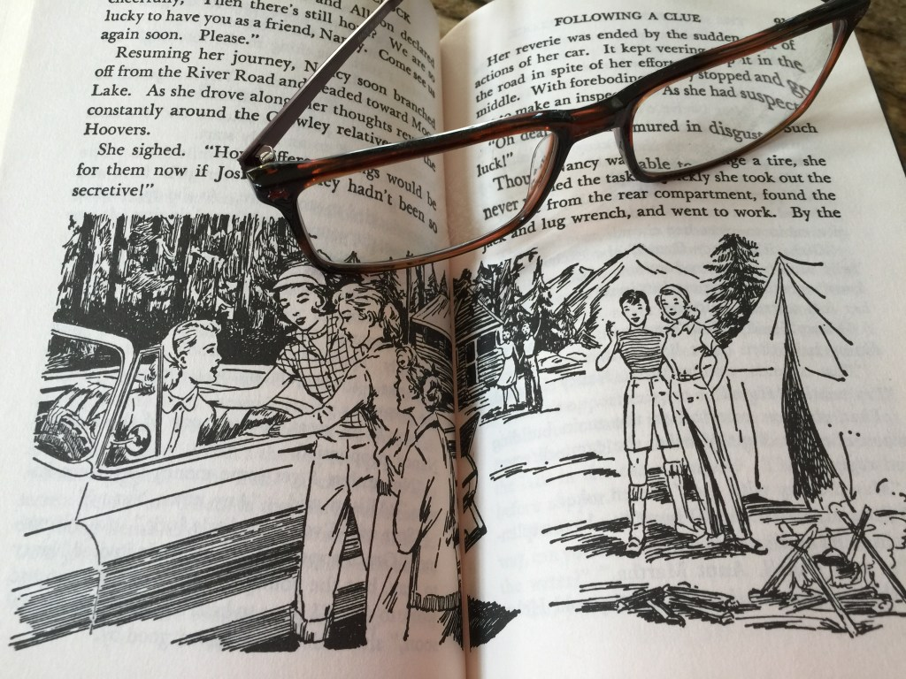 Revisiting Nancy Drew as an Adult: Sadly, as seen through my adult, bespectacled eyes, the magic was gone.