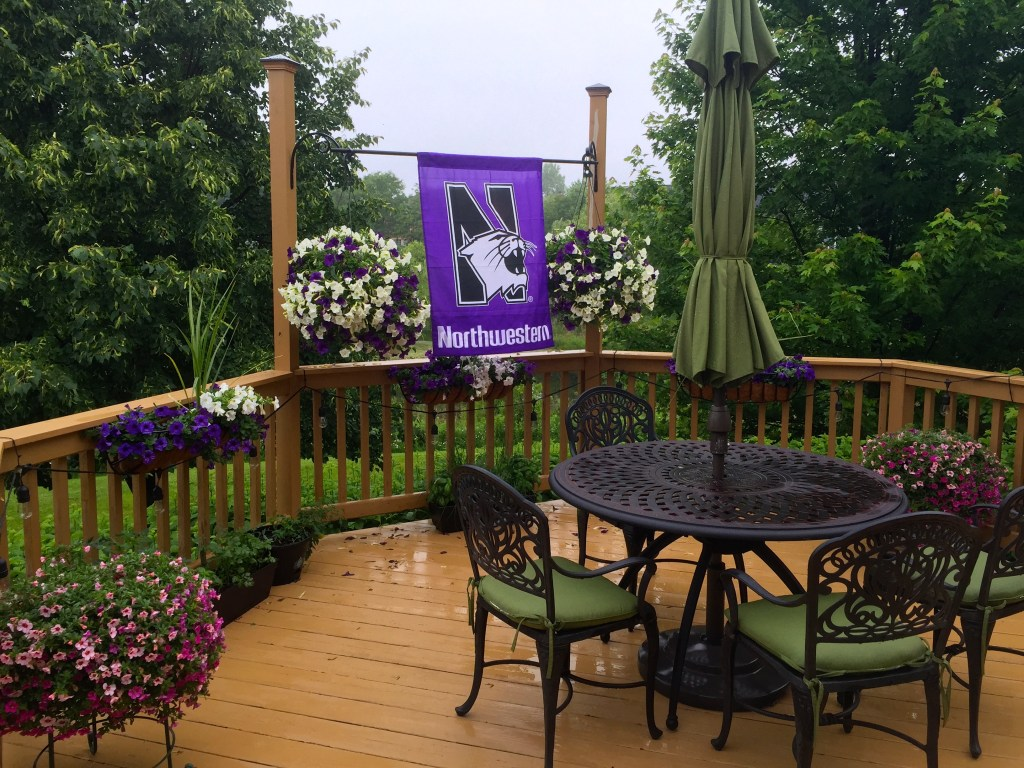 Grad party: the decked out deck
