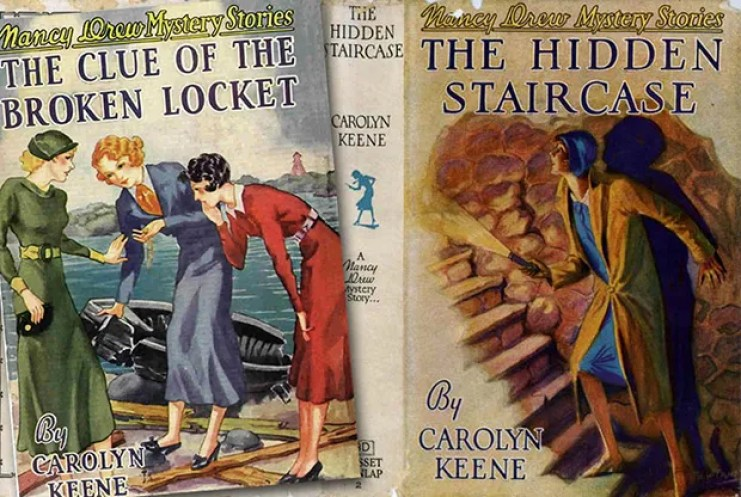 Revisiting Nancy Drew as an Adult: Original Book Covers