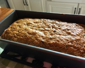 Moist Zucchini Bread with Chocolate Chips