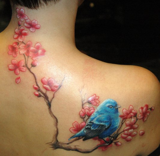 Blue-Bird-Tattoos-Designs
